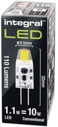 Ledlamp Integral G4 12V 1.1W 4000K koel wit licht 110lumen