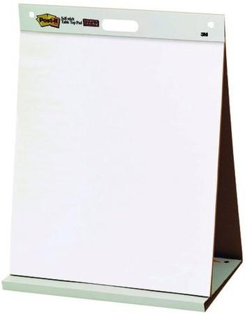 Meeting chart 3M Post-it 563 Super Sticky 508x584mm blanco