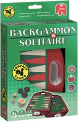 Spel Jumbo backgammon & solitaire travel