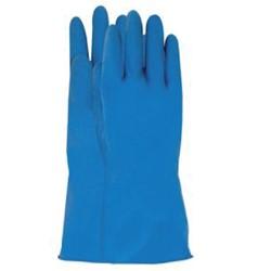 Huishoudhandschoen Nova latex blauw extra large
