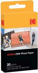 Zink fotopapier Kodak Printomatic 50x76mm blister à 20V