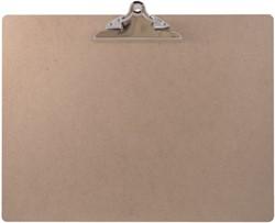 Klembord LPC A3 liggend met 145mm vlinderklem hout MDF