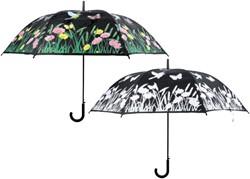 Paraplu vogel veranderde kleur