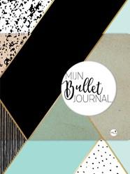 Bullet Journal mint & goud dotted