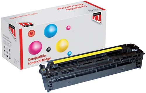 Tonercartridge Quantore HP CE322A 128A geel