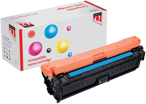 Tonercartridge Quantore HP CE271A 650A blauw