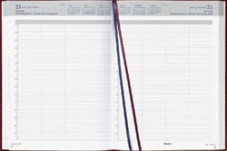 Agenda 2019 Brepols Bremax 2 A4 8 kolommen bordeaux