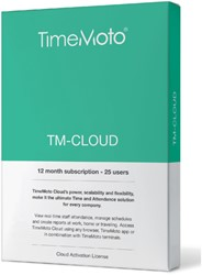 TimeMoto TM-CLOUD 25 user subscribtion