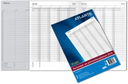Jaarplanner 2019 Atlanta A4 25492492019