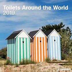 Kalender 2019 teNeues toilets around the world