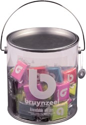Kneedgum Bruynzeel Teens blik 120 stuks assorti