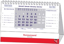 Bureaumaandkalender 2019 Quantore