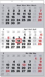 3-Maandskalender 2019 Manager meertalig