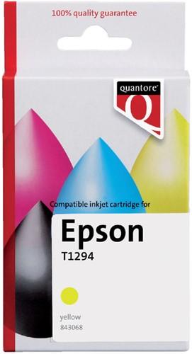 Inktcartridge Quantore Epson T129440 geel