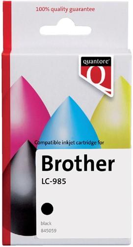 Inktcartridge Quantore Brother LC-985 zwart