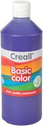 Plakkaatverf Creall basic 09 paars 500ml