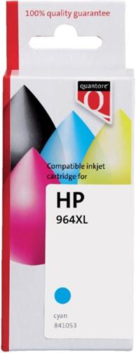 Inktcartridge Quantore HP CB323A 364XL blauw