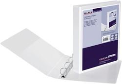 Presentatieringband Falken A4 4-rings D-mech 16mm wit