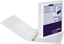 Presentatieringband Falken A4 4-rings D-mech 25mm wit