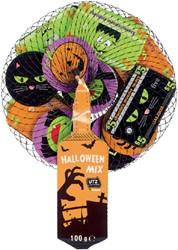 Chocolade munten en biljetten Halloween 100gram