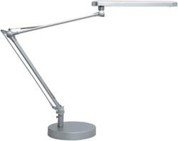 Bureaulamp Unilux Mamboled zilvergrijs