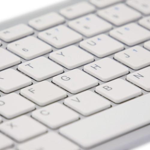 Ergonomisch toetsenbord R-Go Tools Compact Azerty zilver-wit-3