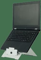 Ergonomische laptopstandaard R-Go Tools Riser aluminium
