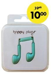 Headset Hama Happy Plugs Earbud kobaltblauw