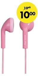 Headset Hama Happy Plugs Earbud roze