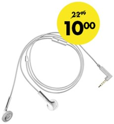 HEADSET HAMA HAPPY PLUGS ZILVER 1 STUK