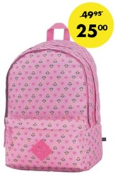 Rugzak Paul Frank Julius pink allover