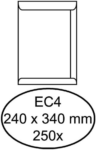 Envelop Quantore akte EC4 240x340mm wit 250stuks