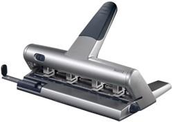 Perforator Leitz 5114 4-gaats 30vel zilvergrijs