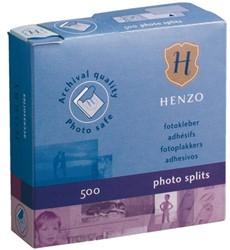 Fotoplakker Henzo dispenser 500stuks