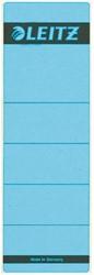 Rugetiket Leitz 1642 62x192mm zelfklevend blauw