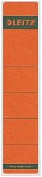 Rugetiket Leitz 1643 39x191mm zelfklevend rood