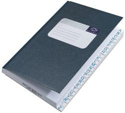 Breedkwarto Atlanta 2101224600 met alfabet blauw