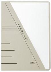 Insteekmap driehoeksmap Jalema Secolor A4 grijs