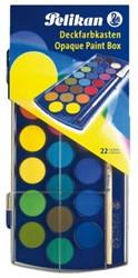 Waterverfdoos Pelikan 721670 21 kleuren assorti