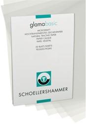 Ontwerpblok Schoellershammer A4 90-95gr transparant 50vel
