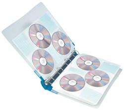 RINGBAND CD QUANTORE 90CD 4RINGS GRIJS 1 STUK