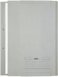 Bijlagenmap Pocket Infinio A4 midden grijs
