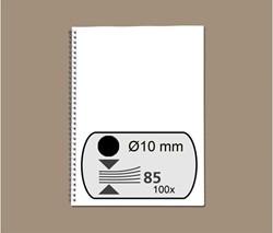Draadrug Fellowes 10mm 34-rings A4 zwart 100stuks