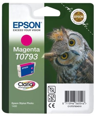 Inktcartridge Epson T0793 rood