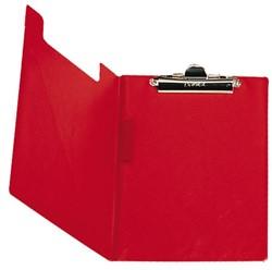 Klemmap Elba met klem +penlus rood