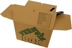 Verhuisdoos CleverPack bedrukt 480x320x360mm 25stuks