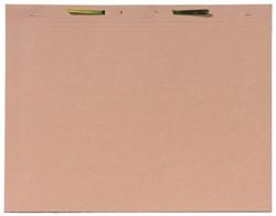 Binnenmap A6020-25 folio met hechting chamois