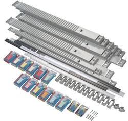 Planbord A5541-7811 jaar 35vaks grijs