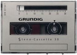 DICTEERCASSETTE GRUNDIG 30 UNIVERSEEL 1 STUK