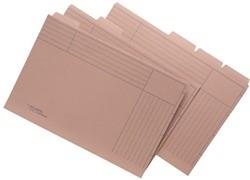 Binnenmap A6590-50 folio met 5 tabs